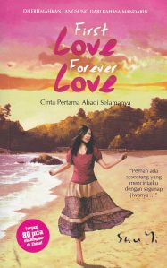 Sampul novel First Love Forever Love
