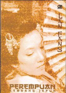 Sampul Novel Perempuan Kembang Jepun