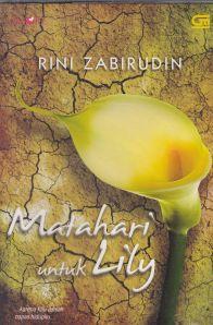 sampul novel matahari untuk lily oleh rini zabirudin