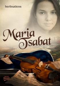 sampul novel maria tsabat, karya Herlinatiens, penerbit Diva-press