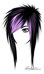 gaya rambut emo hair