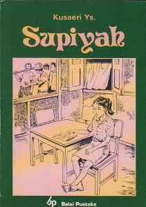 sampul novel supiyah oleh kusaeri ys, penerbit pn balai pustaka