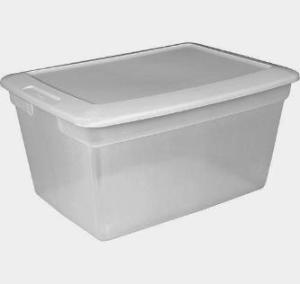 plastik kontainer buku