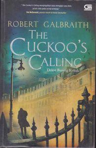 cuckoo's calling robert galbraith gramedia pustaka utama