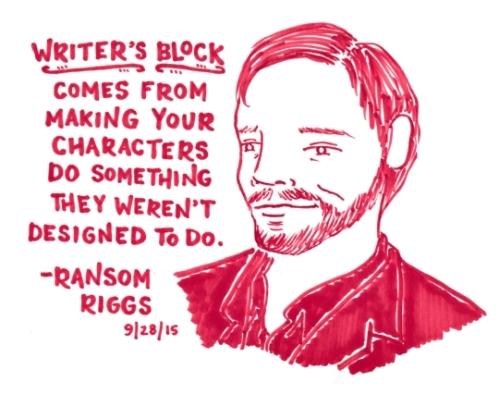 WriterBlockRansomRigg